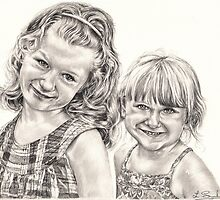 Caitlin and Alannah by L K Southward