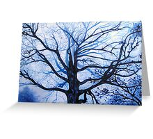 'Tree in Fog' Greeting Card