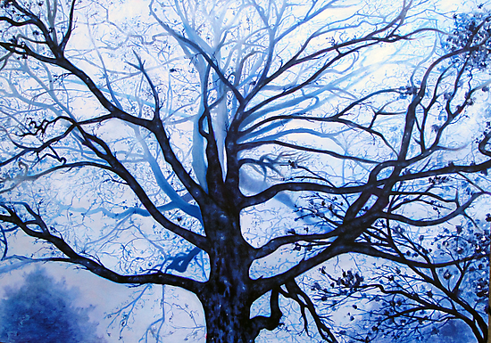 'Tree in Fog' by Jerry Kirk