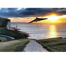 Final Beachy Head Sortie Photographic Print