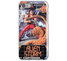 Alien Storm Mega Drive Cover iPhone Case/Skin