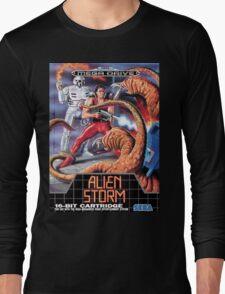 Alien Storm Mega Drive Cover Long Sleeve T-Shirt