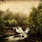 Once upon a time.. a waterfall by bbtomas