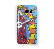 Banjo Playing Virgin Mary Samsung Galaxy Case/Skin