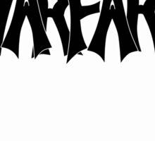 Goliath Warfare (Black) Sticker
