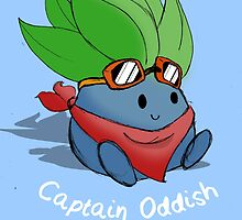 Captain Oddish Sketch by Daniel Bonney