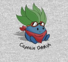 Captain Oddish Sketch One Piece - Long Sleeve