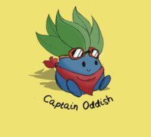 Captain Oddish Sketch Baby Tee