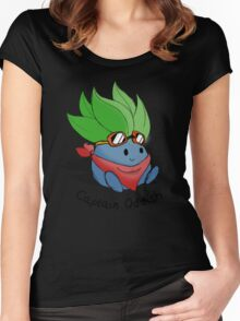 Captain Oddish Sketch Women's Fitted Scoop T-Shirt