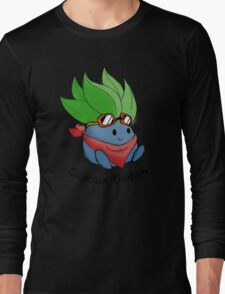 Captain Oddish Sketch Long Sleeve T-Shirt