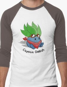 Captain Oddish Sketch Men's Baseball ¾ T-Shirt