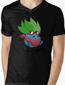 Captain Oddish Sketch Mens V-Neck T-Shirt