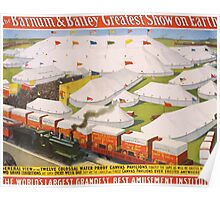 Poster 1890s The Barnum & Bailey greatest show on Earth circus poster 1899 Poster