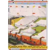 Poster 1890s The Barnum & Bailey greatest show on Earth circus poster 1899 iPad Case/Skin