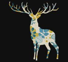 vintage deer by EasyArt