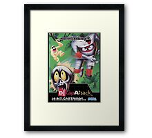 DeCap Attack Mega Drive Cover Framed Print