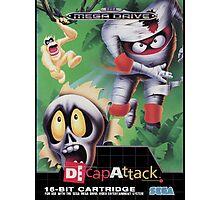 DeCap Attack Mega Drive Cover Photographic Print