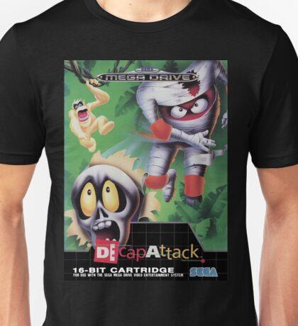 DeCap Attack Mega Drive Cover Unisex T-Shirt