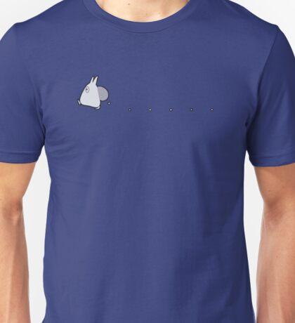 Small White Totoro Dropping Acorns Unisex T-Shirt