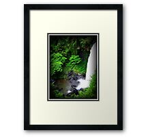 Zillie Falls - FNQ - Australia Framed Print