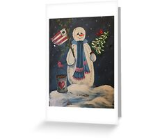 Winter Is On Its Way Greeting Card