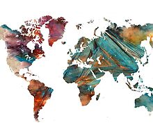 World Map triangle by JBJart