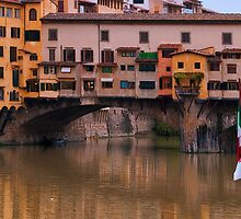 Ponte Vecchio, Over River Arno, Florence by robrich