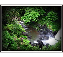 Zillie Falls Rock Pool Photographic Print