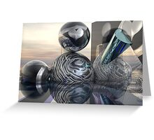 Silverly Christmas Greeting Card