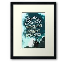 Mordor on the Orient Express Framed Print