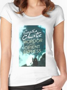 Mordor on the Orient Express Women's Fitted Scoop T-Shirt
