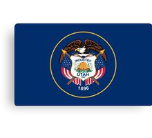 State Flags of the United States of America -  Utah Canvas Print