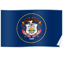 State Flags of the United States of America -  Utah Poster