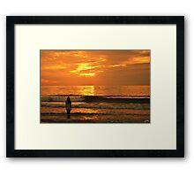 Love the world Framed Print