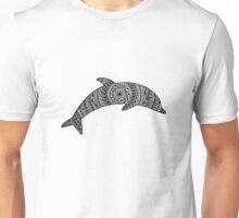 Dolphin Zentangle Unisex T-Shirt