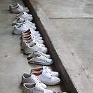 shoes in a row by Sanne Thijs