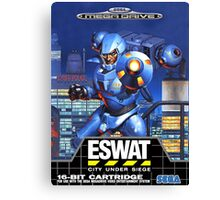 ESWAT Mega Drive Cover Canvas Print