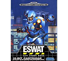 ESWAT Mega Drive Cover Photographic Print