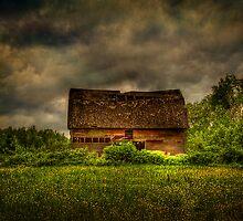 Isolated Barn by Gary Smith