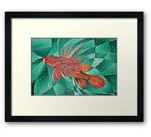 Lion Fish (Pterois) Framed Print