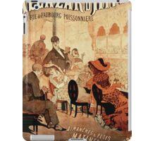 Posters 1880s Alcazar d'hiver1882 iPad Case/Skin