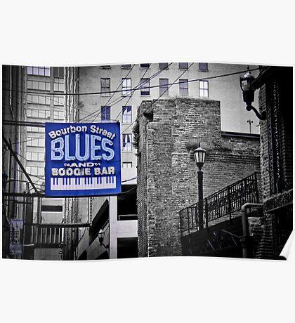 Blues Bar Poster