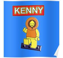 Kenny // Lego Poster