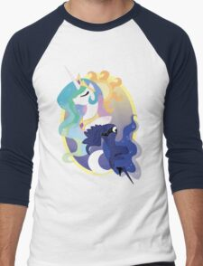 Equestria's Day and Night Men's Baseball ¾ T-Shirt