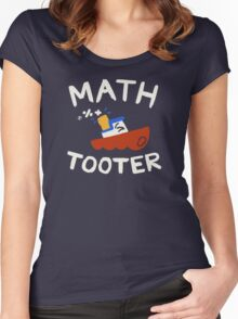 Math Tooter Women's Fitted Scoop T-Shirt