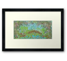The Garden of Tranquility Framed Print