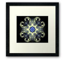 Hommage a Benoit Mandelbrot Framed Print