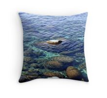 """Sand Reflections"" Throw Pillow"
