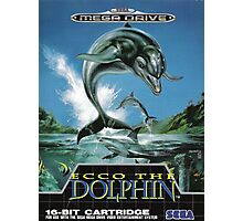 Ecco the Dolphin Mega Drive Cover Photographic Print