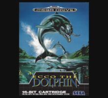 Ecco the Dolphin Mega Drive Cover One Piece - Short Sleeve